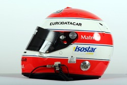 Nicolas Prost, driver of A1 Team France, helmet