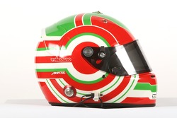 Picho Toledano, driver of A1 Team Mexico, helmet