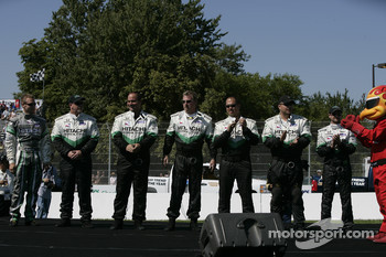 Drivers introduction: Ed Carpenter and his team