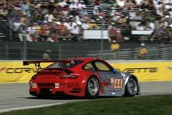 #44 Flying Lizard Motorsports Porsche 911 GT3 RSR: Darren Law, Patrick Long