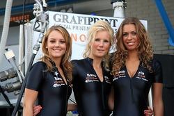 The lovely Bavaria Champ Car Grand Prix of Assen girls