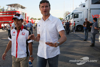 David Coulthard, Red Bull Racing and Takuma Sato, Super Aguri F1