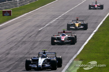 Alexander Wurz, Williams F1 Team, Anthony Davidson, Super Aguri F1 Team