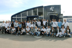 Scuderia Playteam Sarafree receives guests