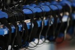 Telecom equipment on pitlane
