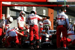 Toyota Racing pitstop training