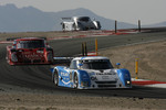 #01 TELMEX Chip Ganassi with Felix Sabates Lexus Riley: Scott Pruett, Memo Rojas, Salvador Duran leads #99 Gainsco/ Bob Stallings Racing Pontiac Riley: Jon Fogarty, Alex Gurney, Jimmy Vasser