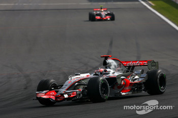 Fernando Alonso, McLaren Mercedes, Lewis Hamilton, McLaren Mercedes