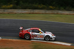 #45 Flying Lizard Motorsports Porsche 911 GT3 RSR: Johannes van Overbeek, Jorg Bergmeister, Marc Lieb