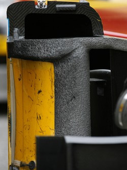 Detail of the Penske Racing Porsche RS Spyder