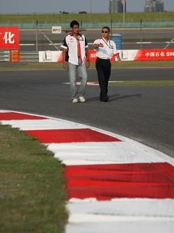 Aguri Suzuki, Super Aguri F1 with Hiroshi Yasukawa, Bridgestone