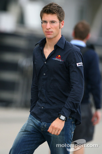 Michael Ammermueller, Red Bull Racing, Testdriver