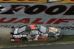 Martin Truex Jr. in the grass
