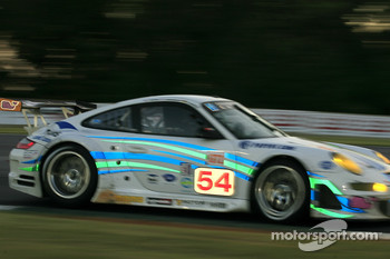 #54 Team Trans Sport Racing Porsche 911 GT3 RSR: Tim Pappas, Terry Borcheller, Marc Basseng
