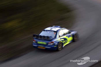 Chris Atkinson and Stphane Prvot, Subaru WRT Subaru Impreza 2007 WRC