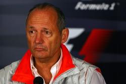 FIA press conference: Ron Dennis, McLaren, Team Principal, Chairman