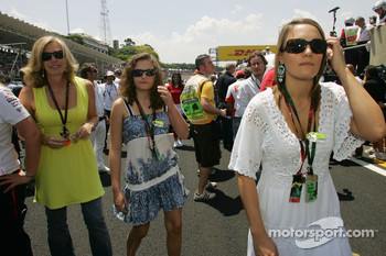 The daughter of Ron Dennis, McLaren, Team Principal, Chairman on the grid and his wife