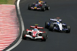 Anthony Davidson, Super Aguri F1 Team, Nico Rosberg, WilliamsF1 Team