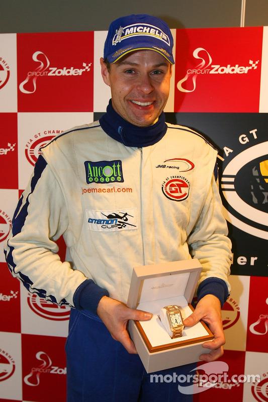 Press conference: Citation Cup 2007 champion Ben Aucott