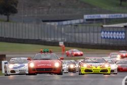 Coppa Shell race 2: the start