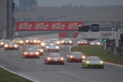 Coppa Shell race 1: the start