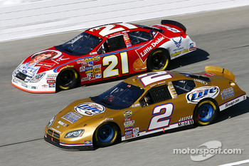 Kurt Busch and Bill Elliott