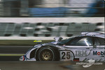#25 Porsche AG Porsche 911 GT1-98: Jrg Mller, Uwe Alzen, Bob Wollek