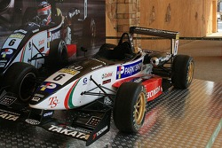 Takuma Sato's winning car from 2001