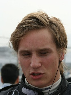 Renger van der Zande considers his grid position