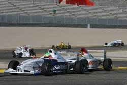 Luuk Glansdorp, Fortec Motorsport and Jordan Williams, Team Loctite