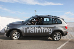 Nick Heidfeld, BMW Sauber F1 Team at the BMW X5 trial