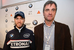 Nick Heidfeld, BMW Sauber F1 Team and some Winner