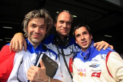 James Robinson, Max Welti and Neel Jani, A1 Team Switzerland