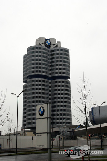 The BMW AG 4 Zylinder building and main building
