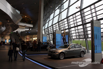 BMW Welcome at the new BMW Welt