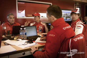 Citroen Total WRT technical briefing
