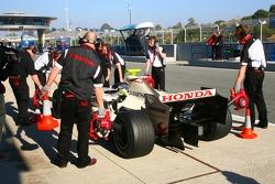 Andreas Zuber, Honda F1 Team