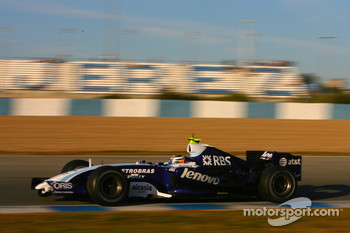 Nico Hulkenberg, WilliamsF1 Team, FW29-B