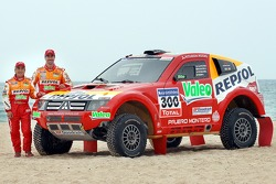 Repsol Mitsubishi Ralliart Team: Luc Alphand and Gilles Picard