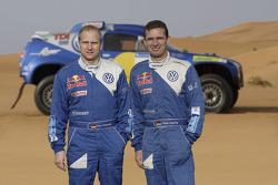 Volkswagen: Volkswagen works driver Dieter Depping and codriver Timo Gottschalk