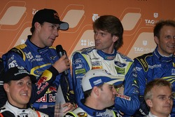 Travis Pastrana, Marcus Gronholm and Petter Solberg