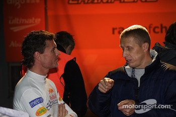 Team Scotland's David Coulthard and Alister McRae