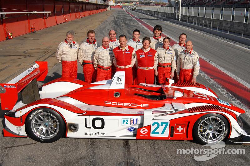 Horag Racing tests its brand-new Porsche RS Spyder