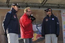 Volkswagen send-off event: Dirk von Zitzewitz and Mark Miller
