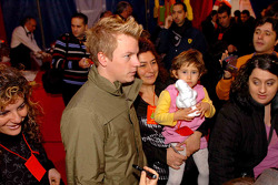Ferrari Christmas for Kids party: Kimi Raikkonen