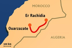 Stage 4: 2008-01-08, Er Rachidia to Ouarzazate