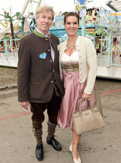 Leopold Prinz von Bayern and Katarina Witt