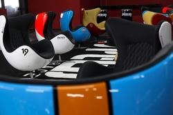 Poltronas personalizadas no Speedland