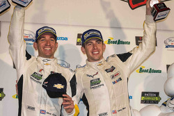 GTLM podium: third place Oliver Gavin, Tommy Milner, Corvette Racing