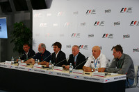 A Press Conference held by the circuit organisers